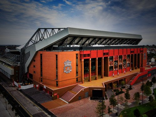 Liverpool Anfield Football Tour